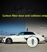 Buy 4PCS Car door protection carbon fiber scratch rubber stickers car-styling Cadillac srx cts ats escalade sts dts bls for $8.08 in AliExpress store