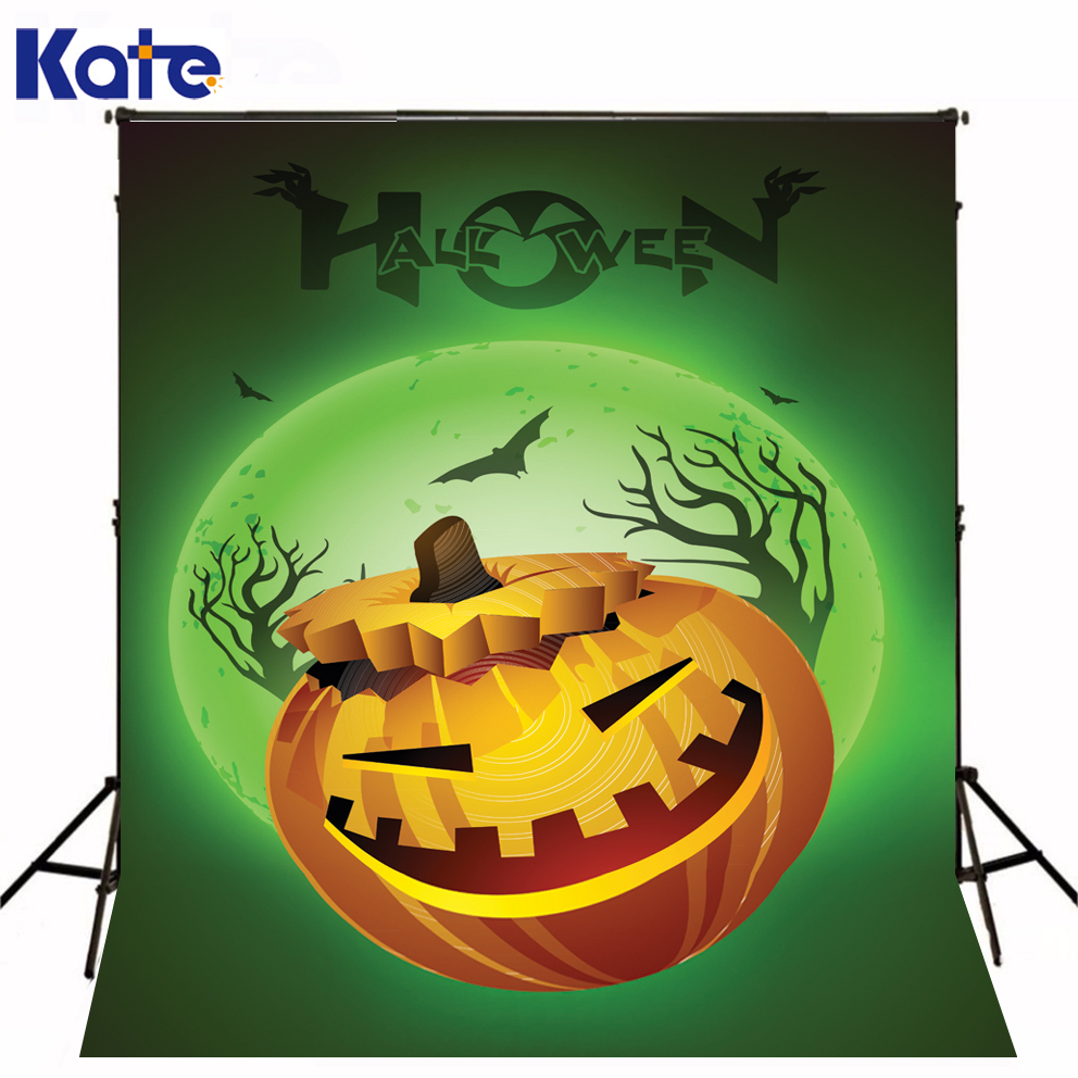 KATE Festival of Halloween Photography Background Horrifying Lantern Pumpkins Witch Bat Backdrops Photo for Studio<br><br>Aliexpress