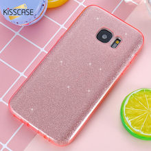 Buy KISSCASE Samsung Galaxy S7 Case Ultra Thin Bling Glitter Flash Powder Soft TPU Silicone Hard PC Case Samsung S7 Edge for $3.24 in AliExpress store