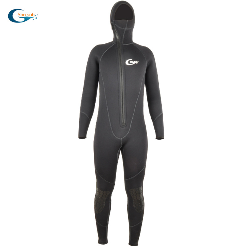 Wetsuit 5mm Siamese Long-sleeved Warm Men Snorkeling Clothes Full Body Diving Suit Underwater Swimming Surfing Sports Clothing(China)