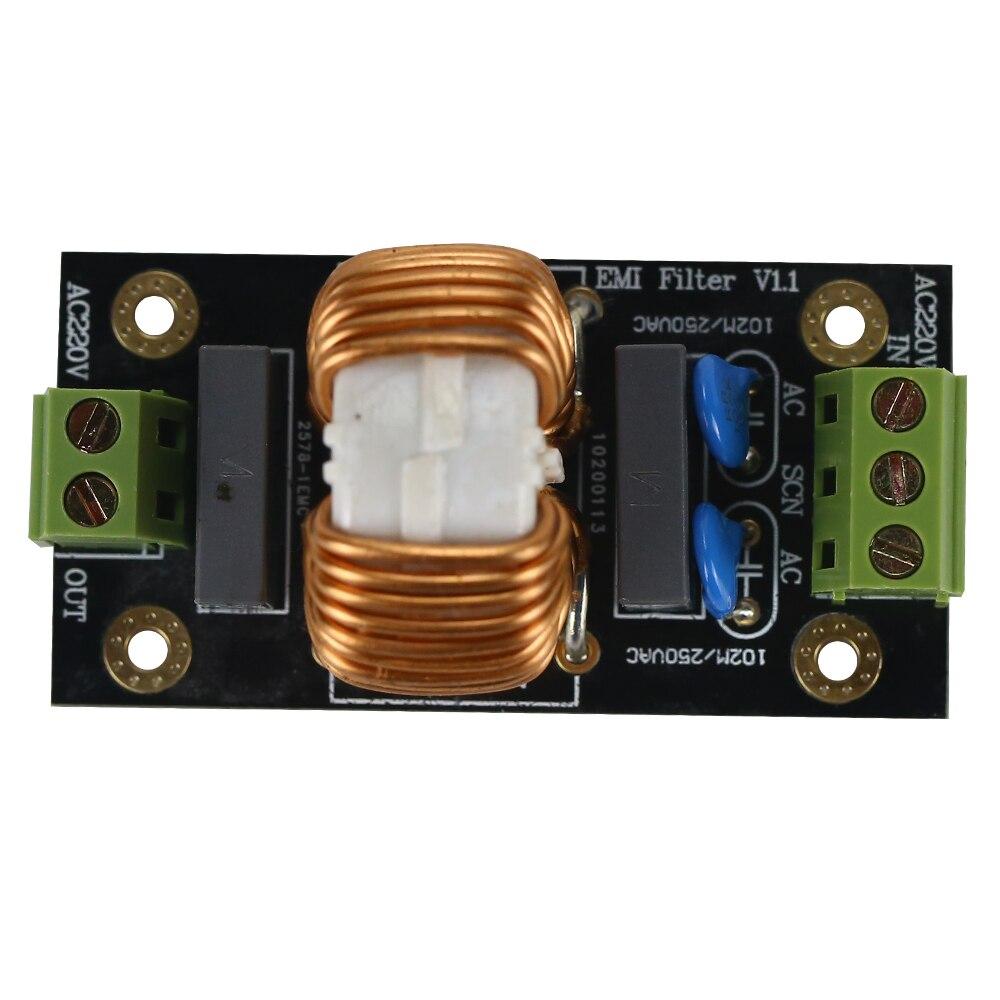 18A EMI Power Supply Filter Board DIY Kits For Speaker Power Amplifier Filtering