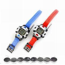 New 2 Pieces/Lot New TWO WAY RADIO WALKIE TALKIE KIDS CHILD SPY WRIST WATCH WRISTLINX GADGET TOY WALKY