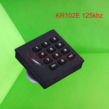 KR102E keypad RFID Card Reader with Wiegand 26bit / 125khz Proximity Card Reader,ID card reader