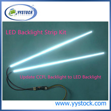 10pcs/lot 490mm Adjustable brightness led backlight strip kit,Update your 22inch ccfl lcd screen panel monitor to led bakclight