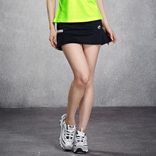 New Sport Skirt Tennis Skirt Badminton Sweater Women Badminton Skirt Pants Quick Dry Breathable Clothes(China)