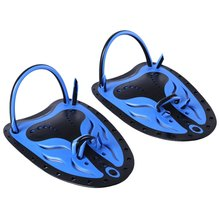 Whale Unisex Swimming Fins Paired Adjustable Paddles Fins Webbed Training Pool Diving Hand Gloves Swimming Fins(China)