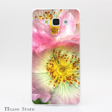 4065CA Wild Roses Transparent Hard Cover font b Case b font for Galaxy A3 A5 A7