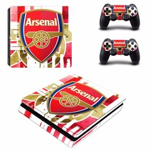 Buy Arsenal Football Team PS4 Slim Skin Sticker Decal Sony PlayStation 4 Console 2 Controllers PS4 Slim Skin Sticker for $8.54 in AliExpress store