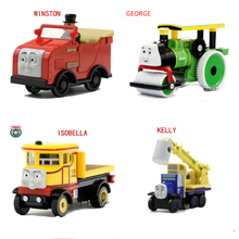 Thomas and Friends KEVIN MIX Jeke Madge George Diecast Metal Train Toy Megnetic Train Tank Engine Toys Children Kids Gifts(China)