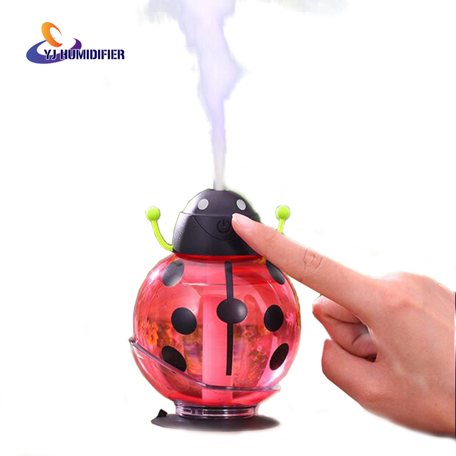 Air Humidifier LED Ultrasonic Humidifier USB Humidifier Mini Aroma Essential Oil Diffuser 260ml Aromatherapy diffuser<br><br>Aliexpress