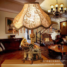 TUDA Free Shipping Elephant Mascot Desk Lamp Household Decoration KTV Bar Table Lamps Lanterns Villa Desktop Vintage Table Lamps(China)