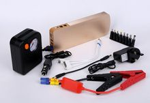 18000mah big capacity Car Jump Starter 12v multifunction car jump starter Power Bank with air compressor
