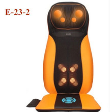 Electric Vibrating Massager Neck Massage Cushion Body Shiatsu Massage Chair Sofa Kneading Back Massage Device(China)