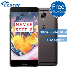 Original OnePlus 3T A3010 5.5'' Mobile Phone Snapdragon 821 Quad Core 6GB RAM 64GB ROM 16.0MP Camera Android 3400mAh NFC