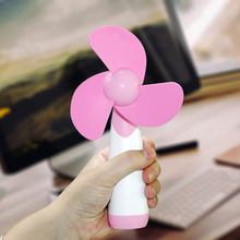 New Handheld Mini Fan Portable Super Mute Battery Operated for Cooling