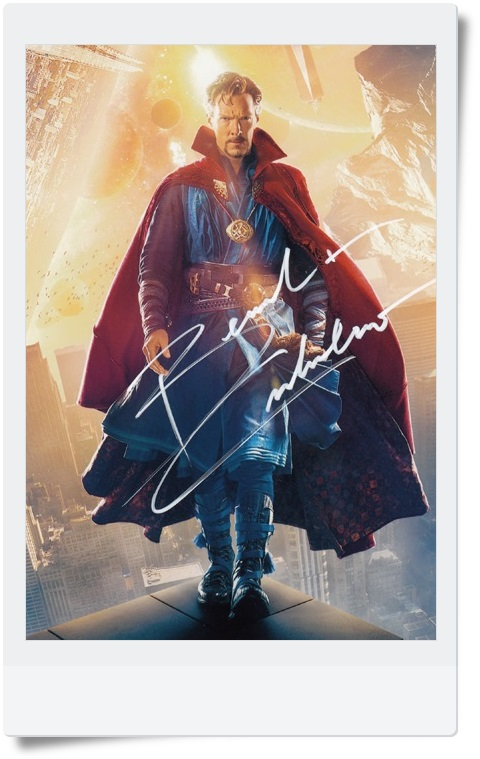 signed Benedict Cumberbatch autographed  original photo 7 inches 6 versions chosen  freeshipping 062017 <br>