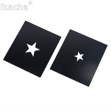 10pcs/lot.Bokeh Masters Kit by DIY Photography Unique Special Effects System Star-shaped For Cokin P Set(China)