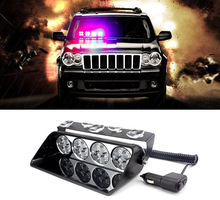 48W High power Led Car warning light Emergency strobe flash dash hazard signal light Police Fireman Ambulance truck intimidator