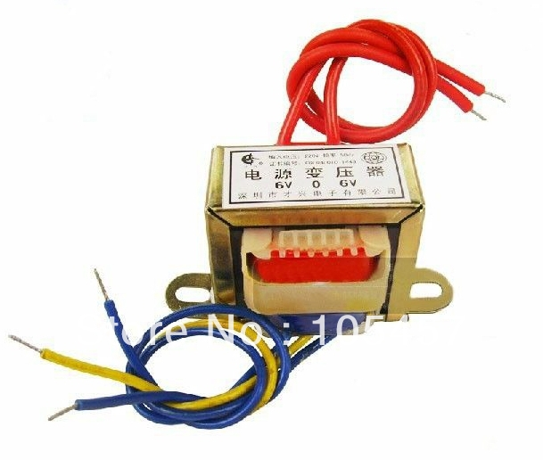(1) 24VAC Output Voltage 50W EI Ferrite Core Input 220V 50Hz Vertical Mount Electric Power Transformer<br><br>Aliexpress