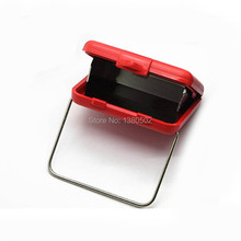 Hot Fashion Pocket Portable Ashtray Mini Style Metal Windproof And Smokeless(China)