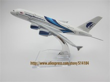16cm Alloy Metal Blue Air Malaysia Airlines Airbus 380 A380 Airways Airplane Model Plane Model W Stand Aircraft  Gift