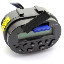 Universal Motorcycle Handlebar Radio Audio FM MP3 Speaker Support SD Remote Control LCD Display Waterproof Theft Protection