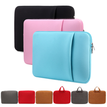 "Laptop Bag 11.6"" 13.3"" 15.6"" inch Portable Soft Sleeve Zipper Laptop Bags Case for women gift MacBook Air Pro iPad mini tablet"