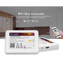 Mi Light WiFi iBox LED Controller 2.4G Wireless rgb IOS Andriod APP Controller For MiLight RGBW rgb cct LED Bulb Strip Light21.(China)