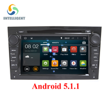 Android 5.1 Quad core HD 1024*600 screen car 2 DIN DVD PLAYER RADIO GPS For Opel Astra H G J Vectra Antara Zafira Corsa Graphite