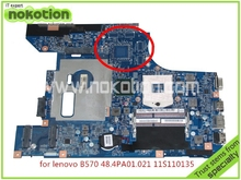 Brand board 11S11013533 48.4PA01.021 LZ57 MB For lenovo B570 Z570 Laptop motherboard intel HM65 HD3000 graphics DDR3
