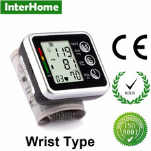Hospital Household Sphygmomanometer Wrist Blood Pressure Monitor Elderly Dizziness Hypertension Heart Pulse Measure Health Care(China)