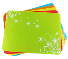 "15.7""x11.8"" Pack of 2 Silicone Solid Color Placemats,Set of 2 Waterproof Non Slip Silicone Kids Placemat"