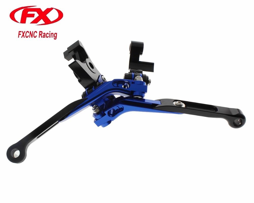 FX Folding Extendable Adjustable Brake Clutch Levers for YAMAHA XT660 XT660R XT660X 2004 - 2014 2005 2006 2007 08 09 10 11 12 13<br>