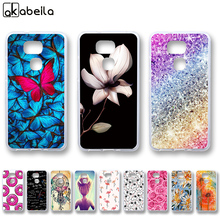 AKABEILA Soft TPU Phone Cases For BQ Aquaris V 5.2inch Covers Nutella Flamingo Tetris Silicone Housing(China)