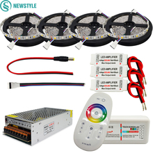 Buy DC12V RGBW Led Light 5050 SMD Led Strip Tape+ 2.4G RGBW RF Remote controller + Power adapter +RGBW Amplifier Kit 5M 10M 15M 20M for $22.26 in AliExpress store