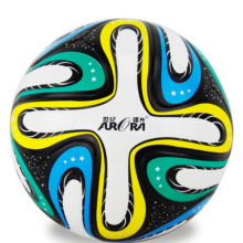 High Quality Official Size 5 Football Ball Unisex PU Granule Slip-resistant Football Seemless Match Game Training Soccer Ball(China)