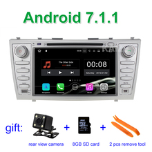 2GB RAM Android 7.1.1 Car DVD Player Stereo for Toyota Aurion Camry 2007 - 2011 with BT Wifi Radio GPS