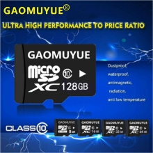 GAOMUYUE Free shipping TF Card 16G 32G 64G 128G Memory Card & microsd in micro sd cards High Speed XC for Phones Camera MP3 Da10(China)