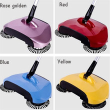 High quality 2017 hot floor sweeper 360 Rotary Home Use Magic Manual Telescopic Floor Dust Sweeper
