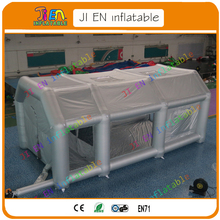Free shipping 8*4*3mH car inflatable spray booth, car inflatable spray paint booth, portable paint/spray booth