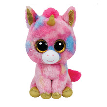 Ty Beanie Boos Plush Toys Beanie Babies Big Eyes Elephant Owl Avril Rabbit Reg Safari Giraffe Pink Twigs Sly Unicorn Animal Doll(China)