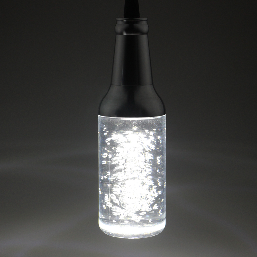 AC85-265V Pendant Lights BAR Lamp Creative Personality 5W LED Restaurant Crystal Art Modern Bubble Crystal Bottle<br>