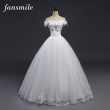 Buy Fansmile Cheap Robes de Mariee Vintage Lace Ball Wedding Dresses 2017 Bridal Dress Real Photo Wedding Gowns for $45.60 in AliExpress store
