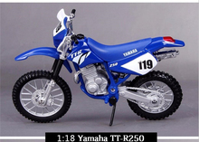 1/18 Alloy Diecast Motorbike model Yamaha Motorcycle Model w/Removable Base Kids Gift Collection Christmas Gifts