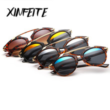 XINFEITE Brand 2017 New Fashion Hipster Sun Glasses For Woman Retro Luxury Women Sunglasses Female Shadow For Travel and Party