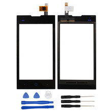 For ZTE V815W Original Sensor Touch Screen Perfect Repair Parts Touch Panel+Tools For ZTE V815W KIS 2 V815 Mobile Phone