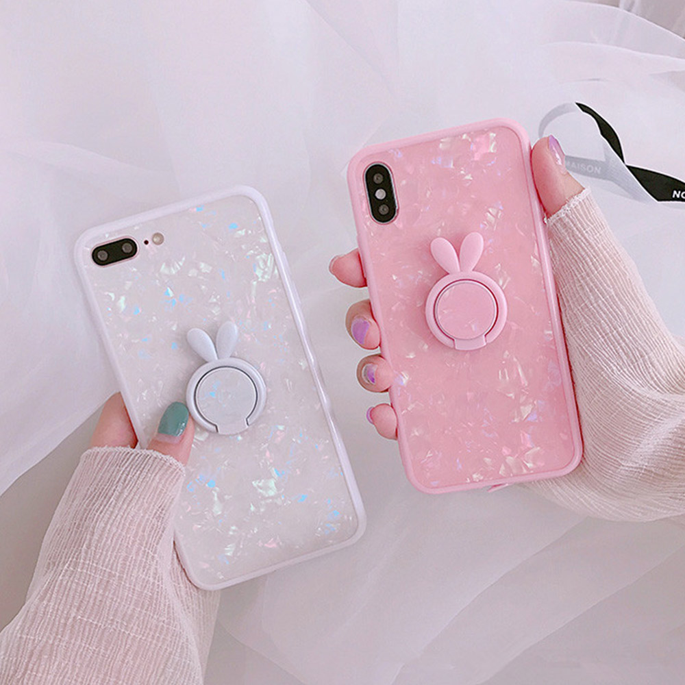 Heyytle Kickstand Phone Stand Holder Cover For Apple iPhone X 8 7 6S 6 Plus Case Shell Cute Fantasy Soft TPU Back Cover Cases 10