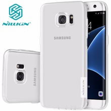 TPU Transparent soft case for Samsung Galaxy S6 S7 edge NILLKIN Nature Series Luxury brand with retailed package