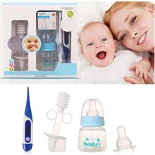 New Baby Care set Thermometers+ Feeding Bottle+Squeeze Medicine Dropper Dispenser Baby health care set Q2