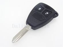 2 button Replacement Key case Transponder Shell Cover Fob Case For Chrysler key shell